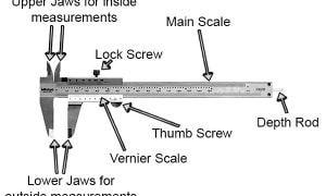 metrology instrument-vernier caliper